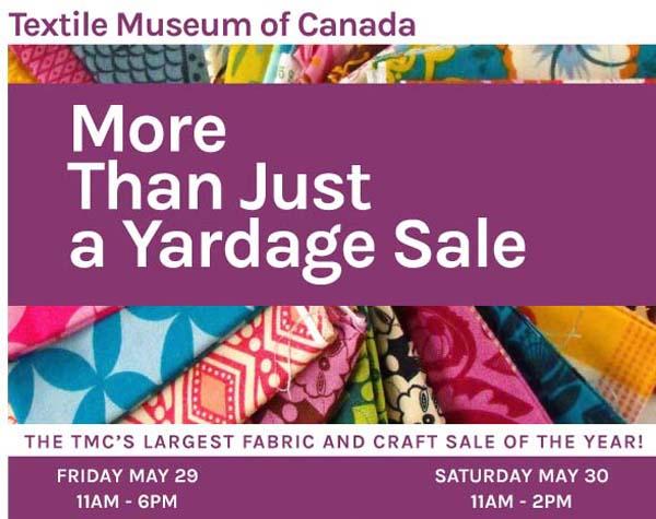 Yardage Sale 2015